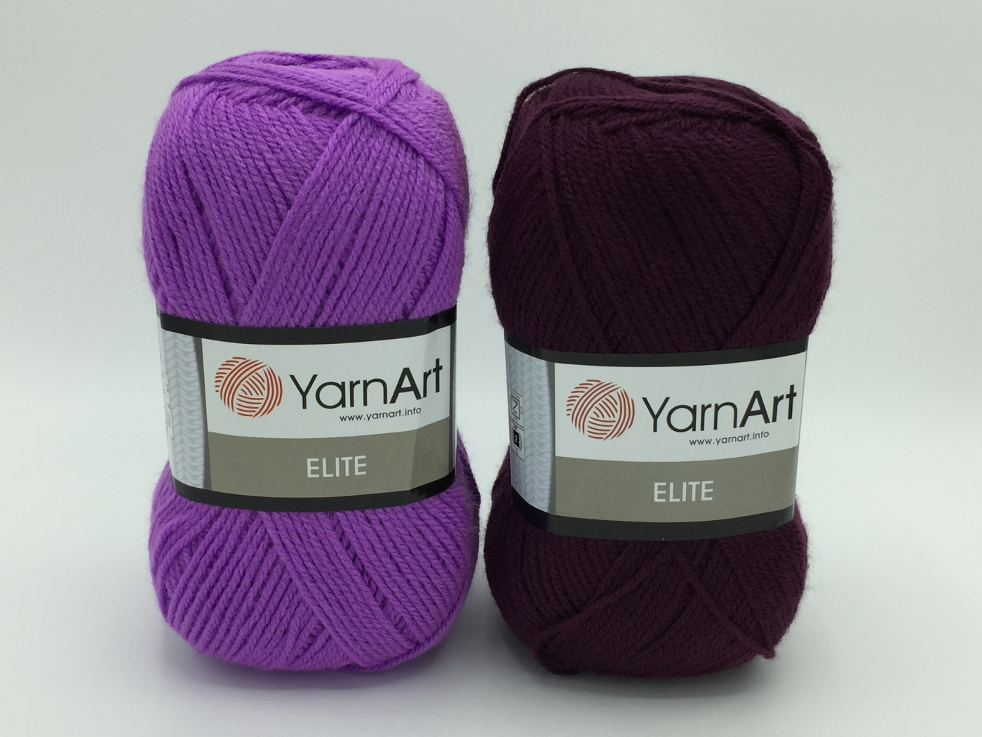 Fire tricotat - ELITE - Mov - 49-75 - Yarn-Art