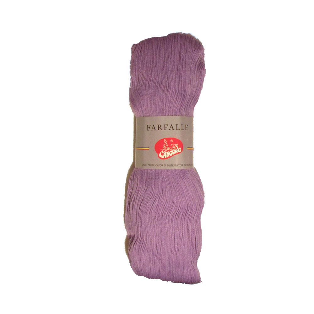Fire tricotat Farfalle - Mov - Canguro