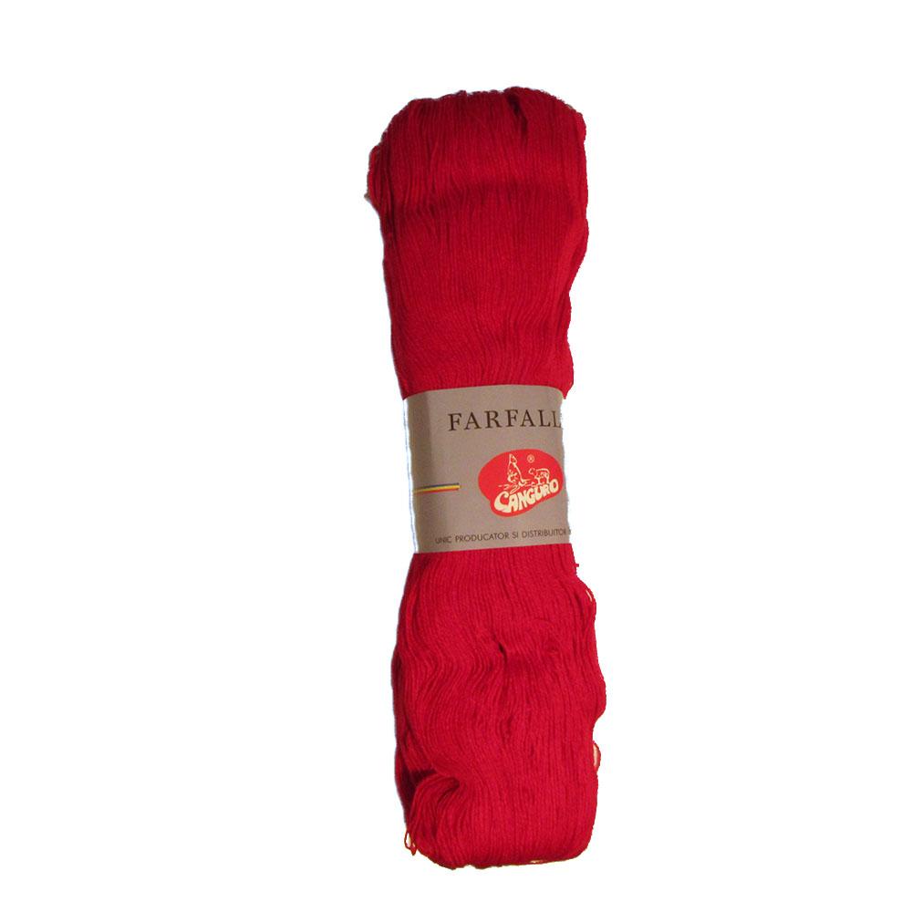 Fire tricotat Farfalle - Rosu - Canguro