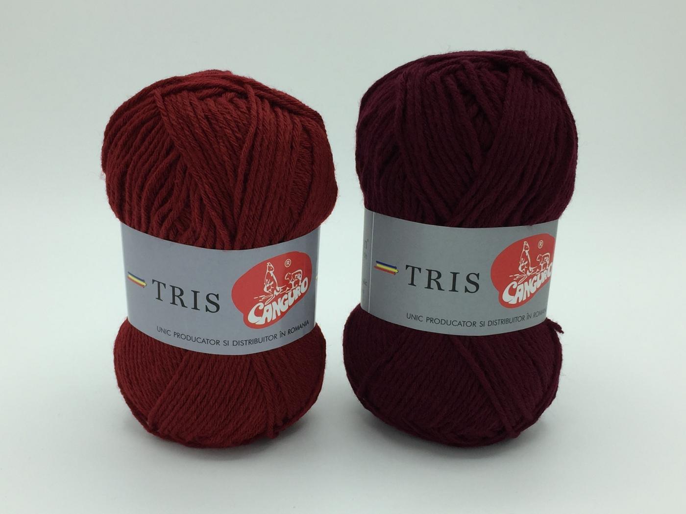 Fire tricotat Tris - Bordo - Canguro