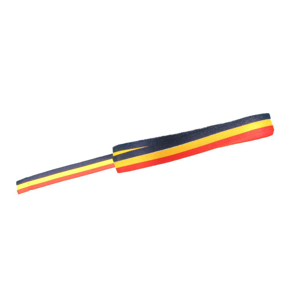 Panglica tricolor - Tricolor - 50 ml -  HT Print Pasmanterie 10 mm