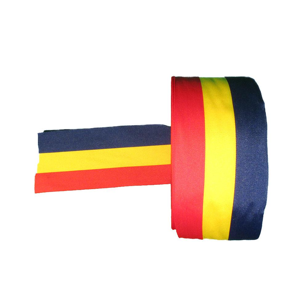 Panglica tricolor - Tricolor - 50 ml -  HT Print Pasmanterie 50 mm