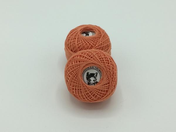 Ata cotton-perle 100% bumbac - Piersica - 10 gheme - Romanofir 20/2-1