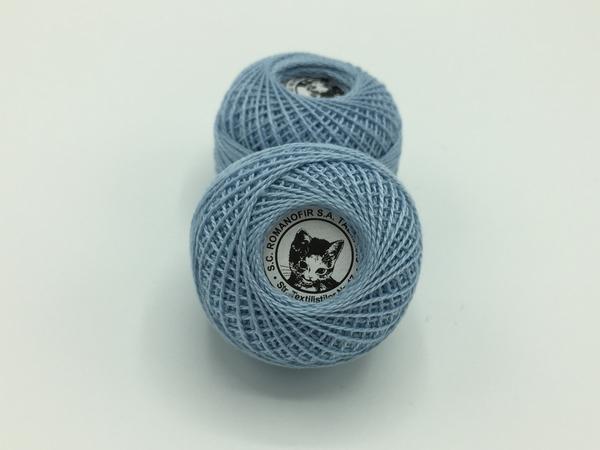 Ata cotton-perle 100% bumbac - Bleo - 10 gheme - Romanofir 20/2