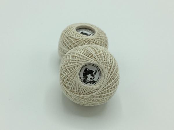 Ata cotton-perle 100% bumbac - Bej natur - 10 gheme - Romanofir 20/2