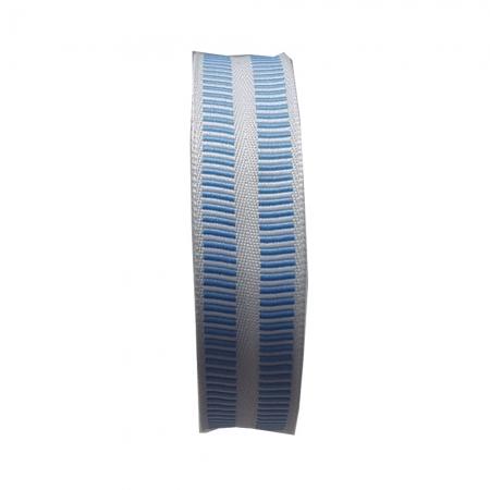 Banda botez Denisa - Albastru - 25 ml - HT Print Pasmanterie