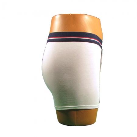 Boxeri barbati - Alb - set 2 bucati - Uniconf BB 116