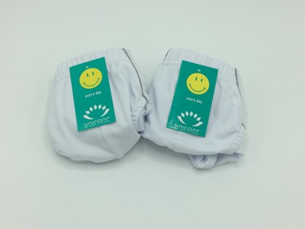 Chiloti barbati 100% Bumbac - Alb - set 2 bucati - Uniconf PB 41