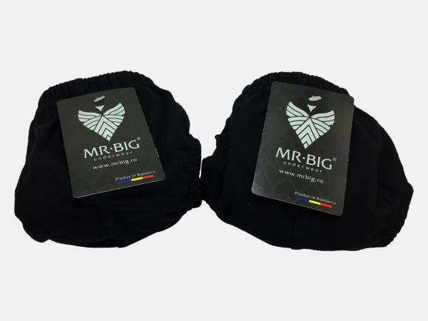 Chiloti barbati  100% Bumbac - Negru - set 2 buc - Mr Big 101