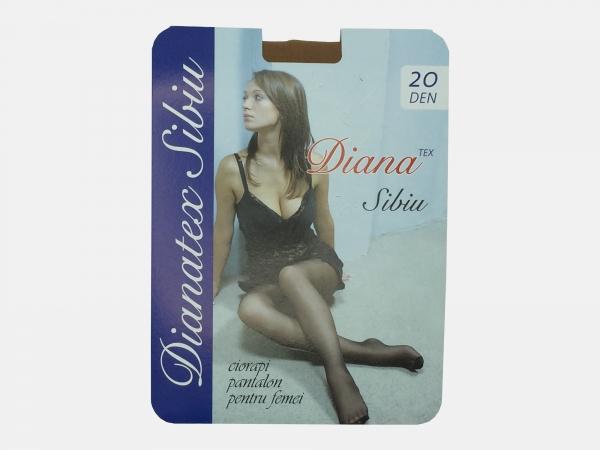 Dres femei poliamida 20 Den - Bej - 5 set - (2,3,4) - Diana-Tex