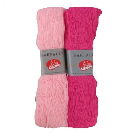 Fire tricotat Farfalle - Roz - Canguro
