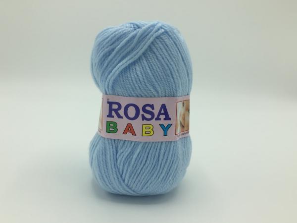 Fire tricotat Baby - Bleu - Rosa