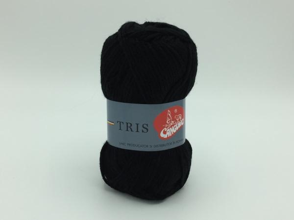 Fire tricotat Tris - Negru - Canguro