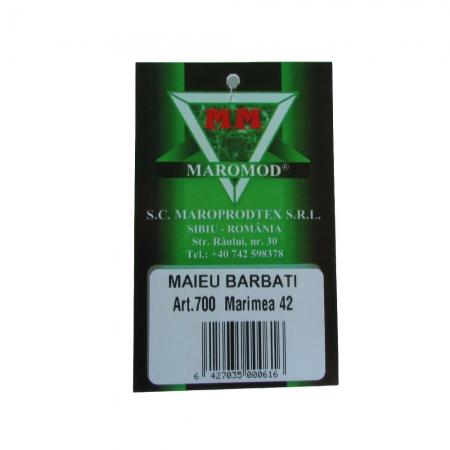 Maiou barbati - Alb - set 5 bucati - Maromod 700