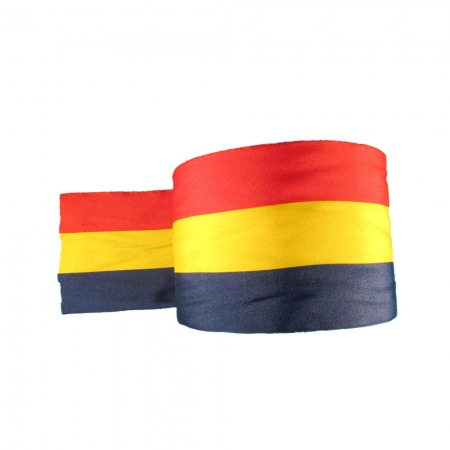 Panglica tricolor - Tricolor - 50 ml -  HT Print Pasmanterie 110 mm