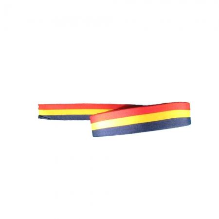Panglica tricolor - Tricolor - 50 ml -  HT Print Pasmanterie 25 mm