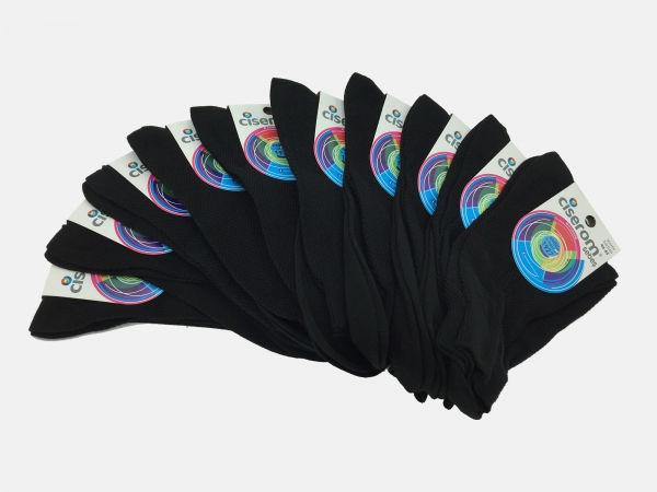 Sosete barbati - Negru - set 10 perechi - Ciserom 180