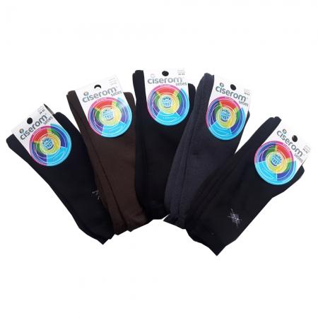 Sosete barbati frotir interior - Multicolor - set 5 perechi - Ciserom 436
