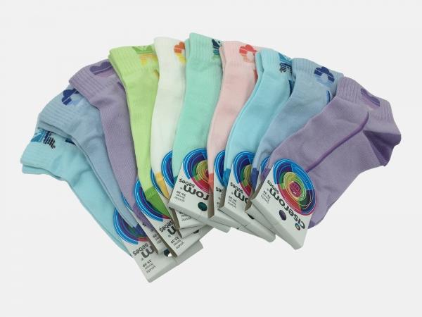 Sosete dama - Multicolor - set 10 perechi - Ciserom 243 fluturi color