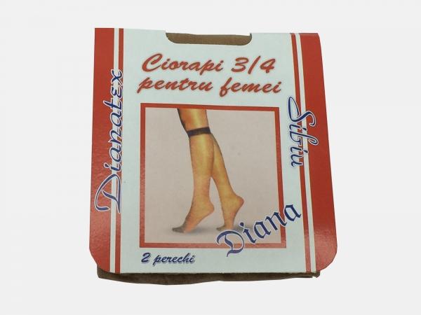 Dres femei poliamida 3/4 - Bej - 5 set - Diana-tex
