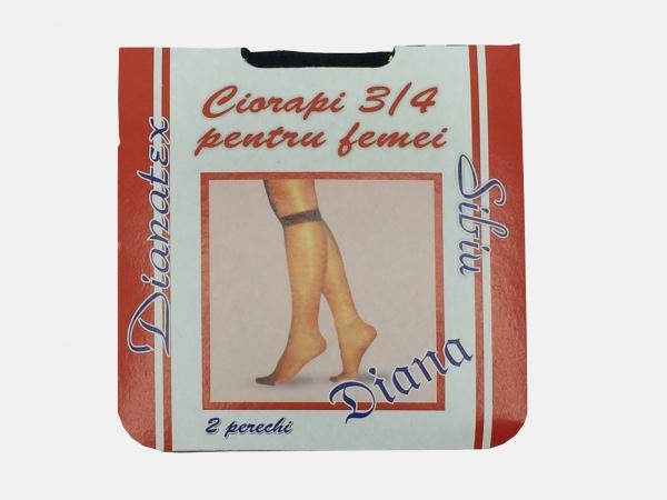 Dres femei poliamida 3/4 - Negru - 5 set - Diana-tex