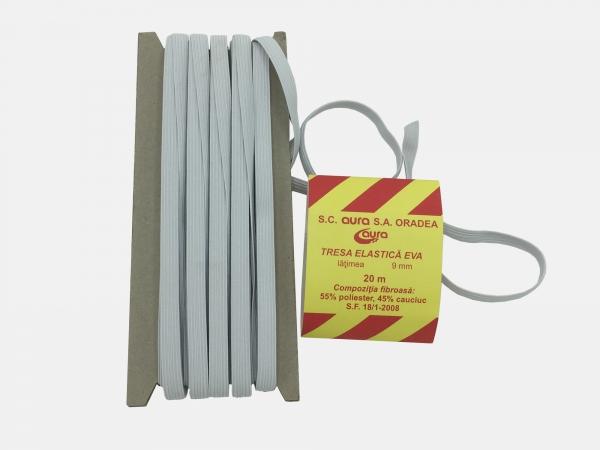 Tresa elastic - Alb - 20 ml - Aura 9 mm